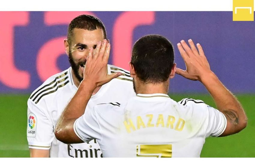 Real Madrid, Hazard toujours incertain contre Manchester City