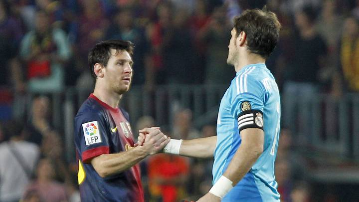 Messi adresse un beau message à Casillas