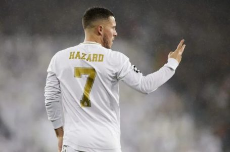 Real Madrid : blessure musculaire pour Eden Hazard